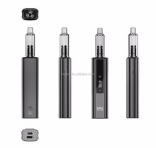 3000mah mod VAX PLUS starter kit 6 colors 100% high quality vaporizer titan with glass mouthpiece