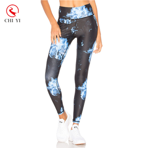 Custom Made Service recycled pet bottle yoga pants cross fit yoga wear leggings
