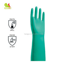 15Mil EN374 EN388 EN420 Certified Unlined Nitrile Industrial Glove
