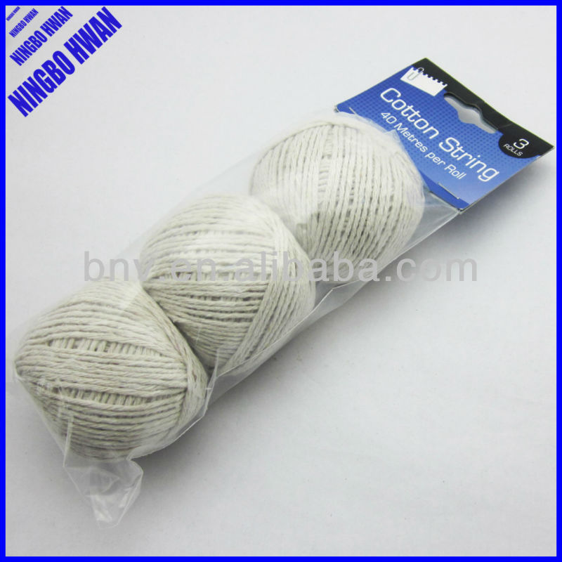 40 meters per roll twist 100 cotton ball string