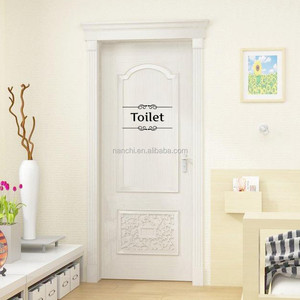 Vintage black Wall Sticker Bathroom Decor Toilet Door Vinyl Decal wall stickers Quote Wall Art home decor PVC poster