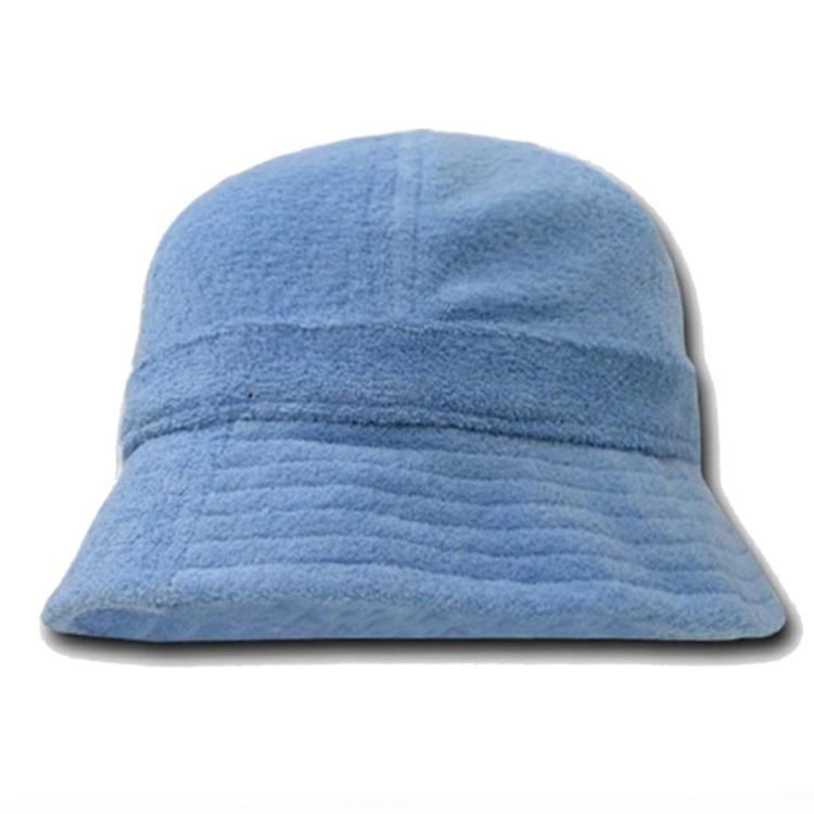 Custom ฤดูหนาวตกปลา terry ผ้าขนหนูหมวก