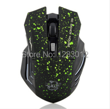 6Keys USB Wireless Gaming Mouse Optical Computer Game Mouse 2.4G WIFI Wireless Mouse For Gamer
