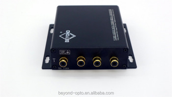 4ch Line Audio Fiber Optic Extender With Rca Connector,Single Mode ...