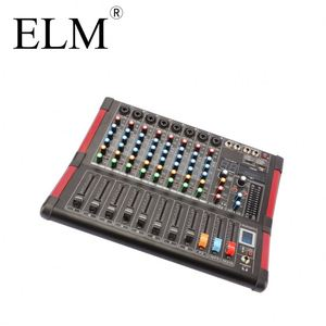 Professional Dj Speaker Audio Mixer Sound System