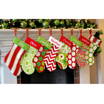 monogrammed blank burlap christmas stockings for embroidery - Burlap Christmas Stocking