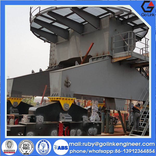 low price new design structure trade assurance china manufacture mobile harbour crane for sale