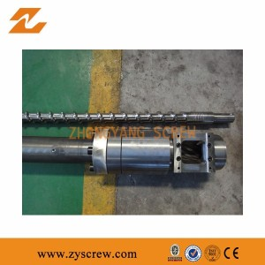 Zhoushan Screw and Barrel for plastic extruder machine injection molding machine screw & barrel