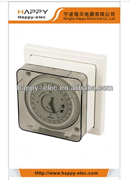 indoor on/off industrial timer module type programable mechanical timer