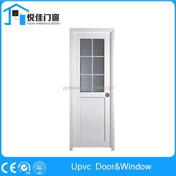 Bathroom Upvc Doors elegant design white double glazed luxury upvc casement door for