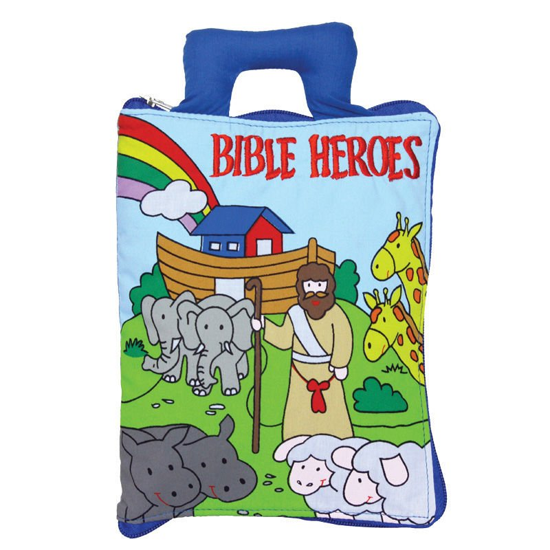 Bible Heroes- Educational Cloth Soft Book Chart Pre-school
