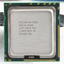 Original Processor Xeon X5560 Quad Core 2.8GHz LGA 1366 TDP 95W 8MB Cache CPU warranty 1 year