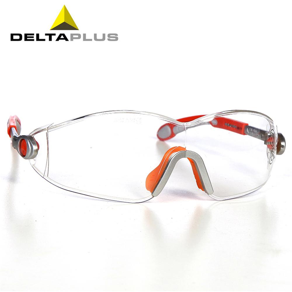 Бесплатная доставка Deltaplus Vulcano 2 прозрачные линзы защитные очки для работы 101116 с коробкой