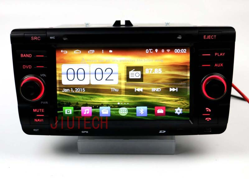 Android 4.4 Quad Core Car Stereo GPS Navigation DVD Stereo Headunit With 3G Built in WIFI For Skoda octavia Laura Yeti car radio