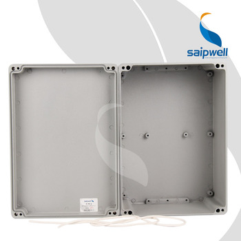 China supplier Weatherproof IP65 Aluminum Project Enclosure and box for electronics  elements with CE ROHS