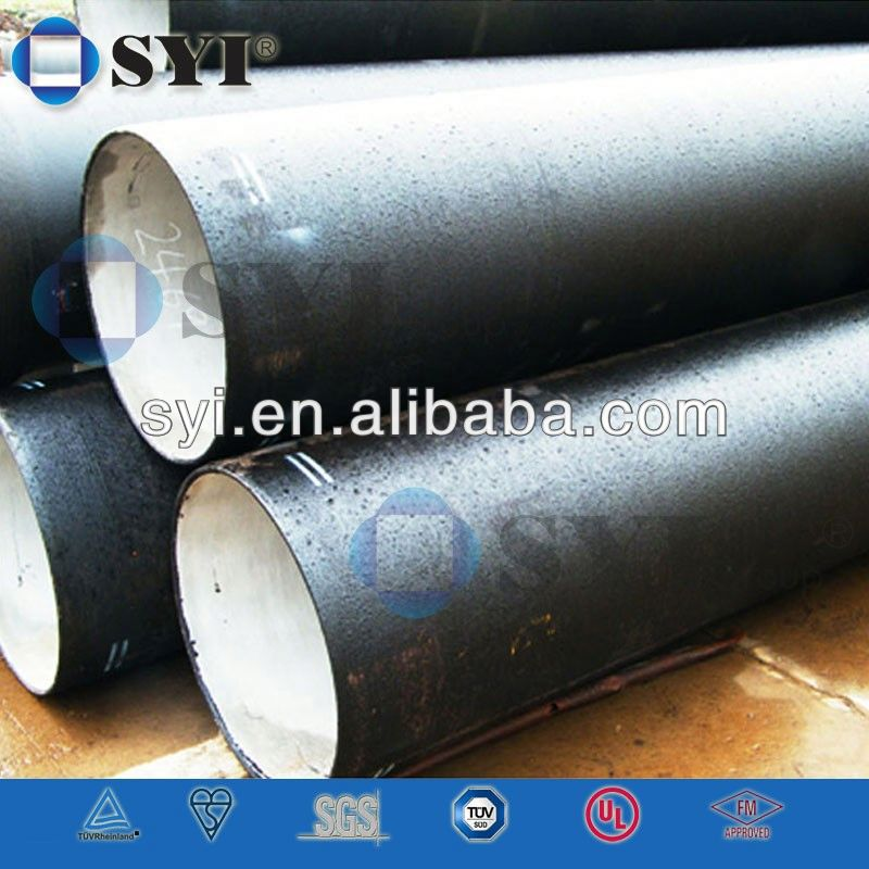 black bitumen coated ductile iron pipe -SYI Group