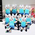 10pcs lot Anime Adventure Time Finn Plush Toy Stuffed Doll With Ring Plush Pendant 6 15cm