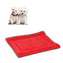 Fournitures pour animaux de compagnie Lavable <span class=keywords><strong>Polaire</strong></span> Pour Animaux De Compagnie Coussin Coussinets <span class=keywords><strong>Chien</strong></span> Tapis De Chat Lit