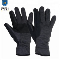 PRI C100 Snow Resistant Winter Leather Anti Slip Outdoor Winter Cold Protection Gloves with Touch Screen Fingertips