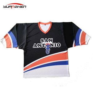 China design your own cheap team ice hockey shirt youth ice practice hockey jersey