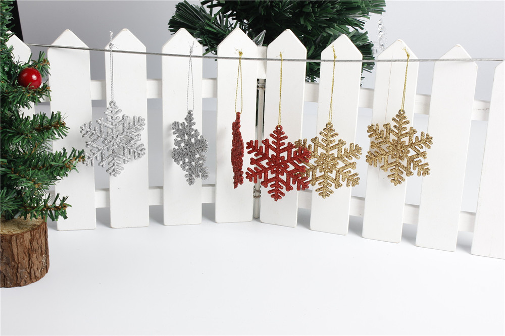 Christmas Decorations Christmas Tree Pendant Party Decoration Amazon Explosion Christmas Snowflake