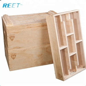 Weightlifting Wooden Jerk Boxs / Blocks