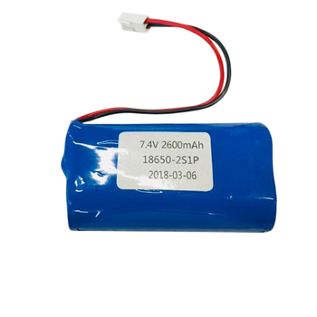 Wholesale 2S1P 18650 7.4V 2600mAh rechargeable lithium ion li ion battery pack