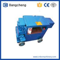 Automatic manual high precision scrap rebar straightening machine