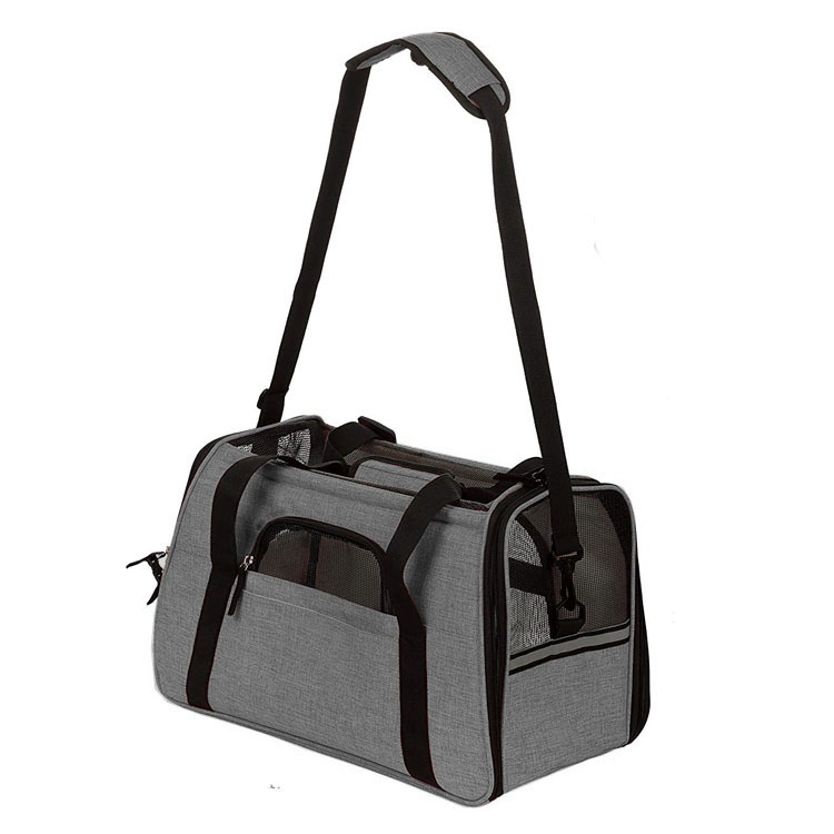 Pet Carrier Bag Airline Approved Soft-Sided Pet Travel Tote Carrier for Small Dogs or Cats