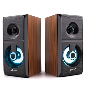 Creative Portable Wood Stereo Sound Speaker System for PC Laptop AC power