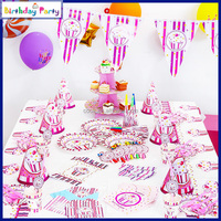 Wholesale princess ice cream theme kids birthday party supplies