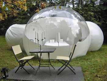 clear bubble tent for sale inflatable bubble tent with 2 tunnels & Clear Bubble Tent For SaleInflatable Bubble Tent With 2 Tunnels ...