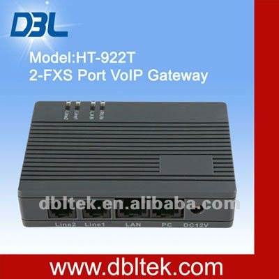 IP PBX/2 FXS ports VoIP SIP Gateway (ATA)/Unlimited global call