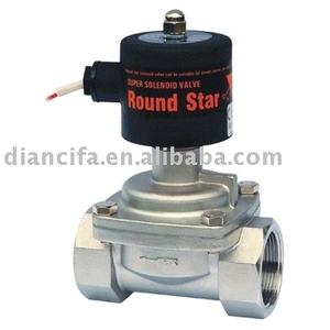 RSPS-40J 2 way Semi-direct acting steam SUS304 solenoid valve