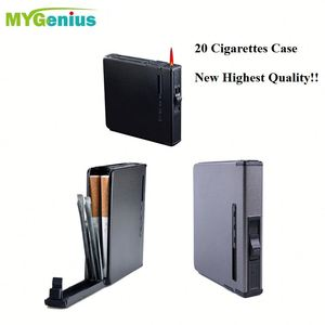 Top Seller ,amd28 Double Sided Flip Open Pocket Case and lighter Hold 20 King Sized Cigarettes