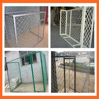 Dog Kennels Cages/Dog Cages for Sale/Grid Wire Mesh