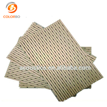 Sound Insulation Wooden Perforated Acoustic Panels