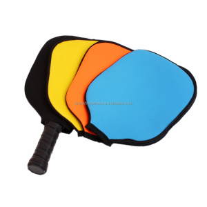 Customized Neoprene Pickleball Paddle Cover with FREE Logo service