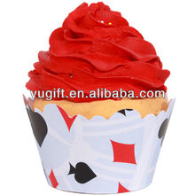 Alice In Wonderland paper Cupcake Wrappers