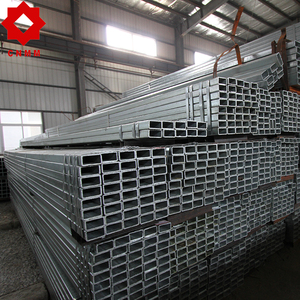 vent tube q235 hot dip zinc coated gi galvanized square rectangular steel pipe