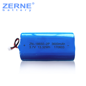 China factory supply 3.7v 18650 2600mah lithium rechargeable battery