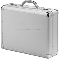 beauty sturdy aluminum briefcase