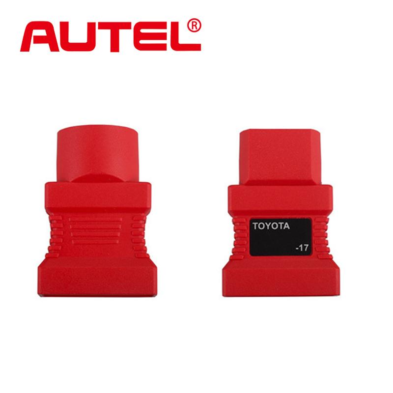 Autel оригинальный авто адаптер для Toyota 17 контакт. до 15 контакт. OBD2 адаптер двигателя диагностический инструмент