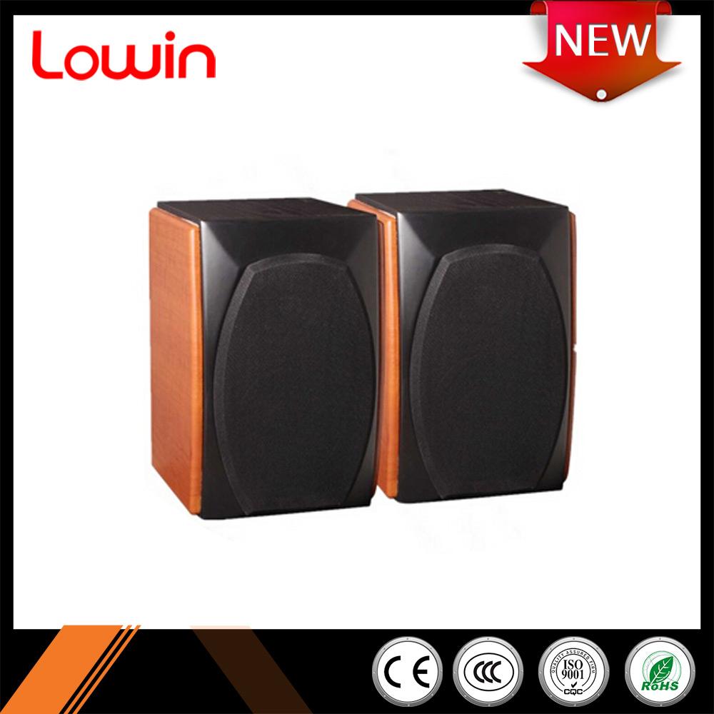 China Design Wooden Bookshelf Active Speaker 12v,5 Inch Mini ...