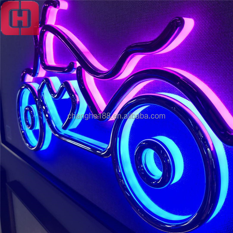 Outdoor Acrylic Letters Plastic Sign Holder Decorative Neon Led Sign