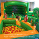 jungle inflatable play zone inflatable kids fun city for sale