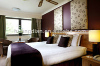 Custom made furniture for hotel high quality cheap price modern wooden hotel /apartment bedroom furniture set