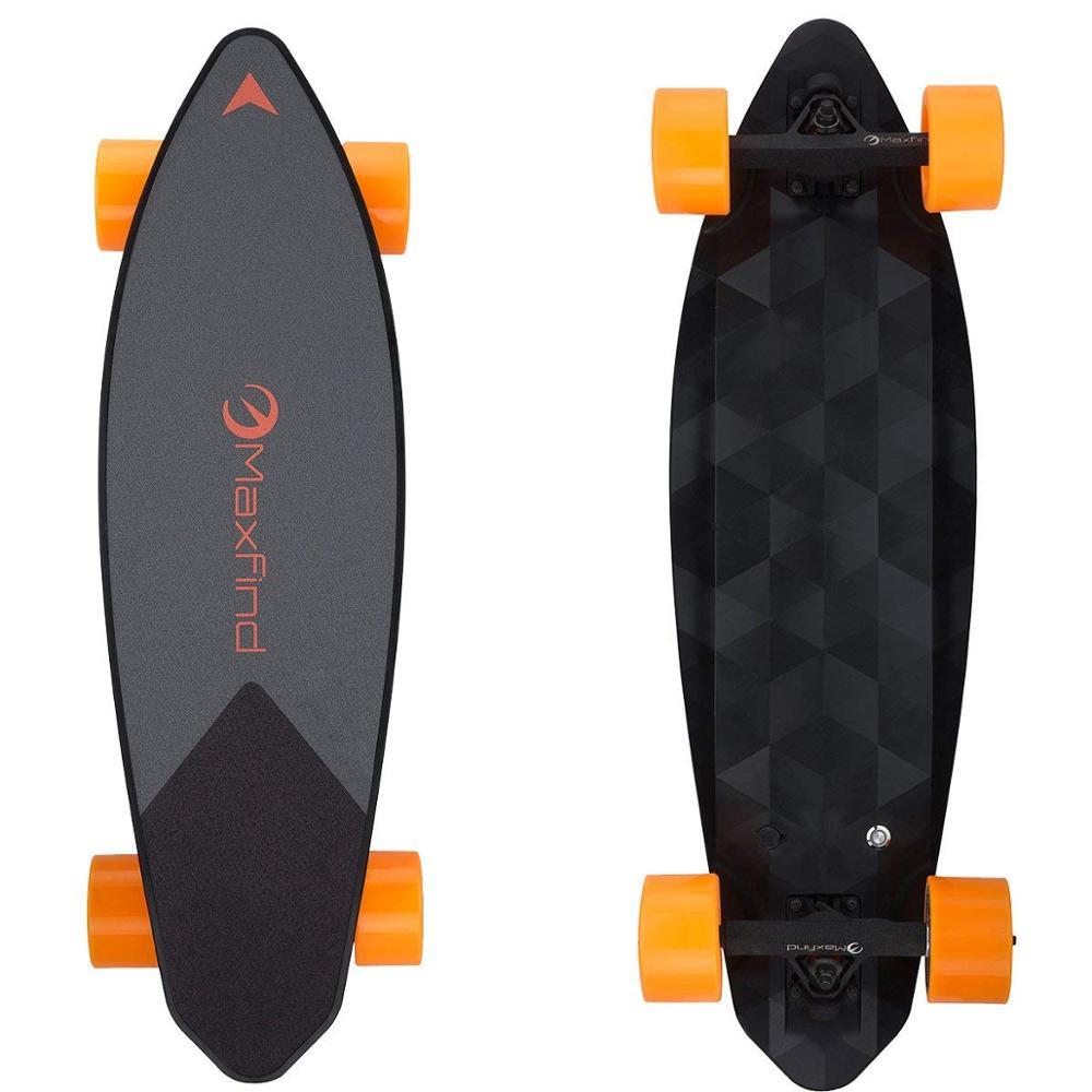 Maxfind Dual Hub Motor 2000W Electric Skateboard Longboard