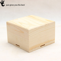 Wood brand name custom gift box small wood gift boxes ,wooden gift box