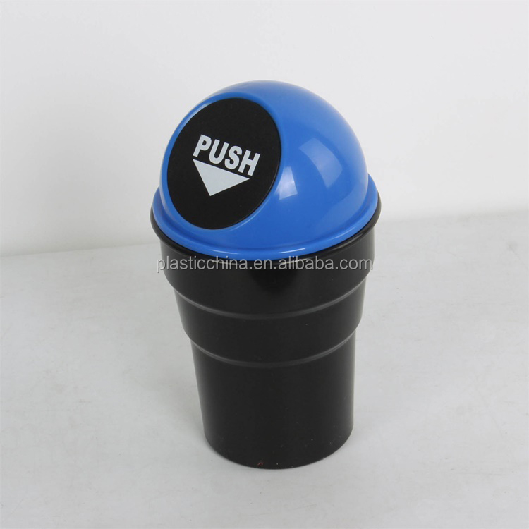 Fashional Auto car portable plastic waste bin